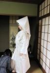 白無垢の着付け2